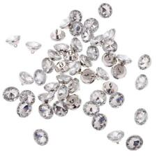 50pcs CRYSTAL DIAMOND EFFECT CHAIR SOFA HEADBOARD UPHOLSTERY SEWING BUTTON