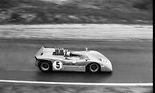 DENNY HULME LA TIMES GRAND PRIX 1967 PHOTOGRAPH FOTO CAN AM MCLAREN RIVERSIDE