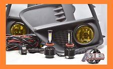 Fit 15-16 Subaru Impreza Wrx Sti CREE LED Fog Light Kit JDM Yellow Wiring+Switch