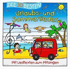 Die 30 Besten Urlaubs-und Sommerlieder CD NEU & EINGESCHWEISST!!!