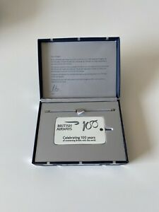 british airways Boeing 747-400 Fuselage 100 Years Key ring/bag Tag