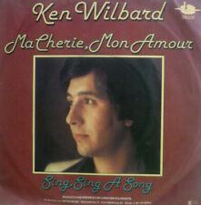 "7"" 1977 AUSTROPOP RARE IN MINT- ! KEN WILBARD : Ma Cherie Mon Amour"