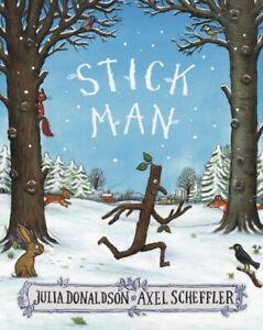 Stick Man by Julia Donaldson (2016, Paperback) 9781407170718 New Book