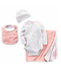 NEW Carter's Baby 4-Piece Gift Set , 0-6 Months