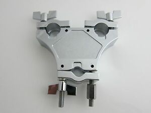 "Tri-Multi Clamp / 3 Way Multi Clamp for 7/8"" Diameter Drum or Cymbal Mounts"