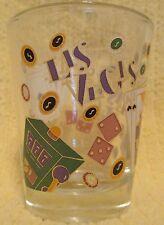 Las Vegas Dice, Cards, Slots Short Shot Glass