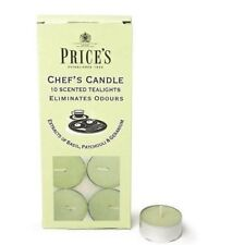 Prices Candles - Chefs Tealights Eliminates Cooking Food Odours - Price's Chef's