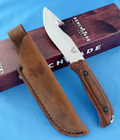 Benchmade Hunt 15003-2 Saddle Mountain Skinner Knife w/Hook Dymondwood S30V