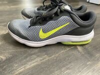Nike Air Max Advantage GS Size 4.5 Grey Volt White 884524 001 Youth Running
