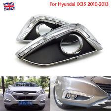 Car LED Daytime Running Lights DRL Bulbs Glow White For Hyundai IX35 2010-2013