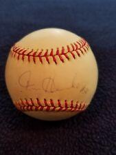 Tom Henke Toronto Blue Jays signed Baseball JSA Authentication