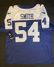 New Dallas Cowboys J.Smith 54 Men Blue Thanksgiving size L