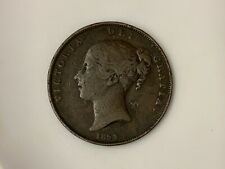 More details for 1854 victoria one penny.