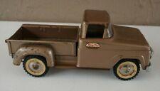 Vintage Tonka Pick-up Truck Brown #BL33 Pressed Steel