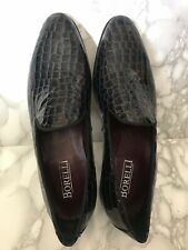 Borelli UK size 11 - Faux Croc look. Brand New and Unworn. Formal, Smart, Loafer