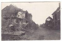 uralte AK Photo-AK Das zerstörte La Bassee Feldpost 1916 //11