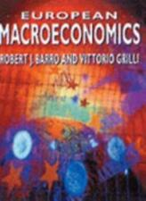 European Macroeconomics, Barro, Robert J. & Grilli, Vittorio, Used; Good Book