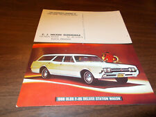 1966 Oldsmobile F-85 Deluxe Station Wagon Advertising Postcard
