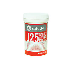 NEW Cafetto J25 Cleaning Tablets for Jura and Krups Super Auto 40 Tablet Packet
