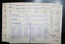 Strat O Matic 1976 Expos Team Set with Extras 24 Cards Original see description