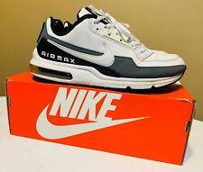 Nike Air Max LTD 3 Shoes Size 10 White Black Cool Grey gray 687977-105 w/ BOX