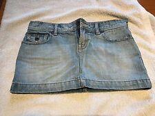 Pre-Owned Junior Girls Abercrombie Jean Skirt Size 14