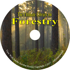 120 Books on DVD, Ultimate Library on Forestry, How to Plant Forest Tree Wood