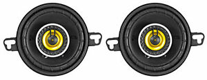 "Pair KICKER 46CSC354 3.5"" 3-1/2"" 180 Watt 4-Ohm 2-Way Car Audio Speakers CSC354"