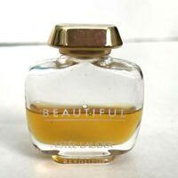 Estee Lauder Beautiful Eau De Parfum Mini Travel Size Splash Perfume 50% Full