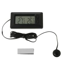 Auto Car LCD Digital Display Indoor Outdoor Thermometer Meter With 1.5m Cable n