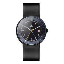 Braun Herren BN0142 klassische dual time Uhr mit Lederband BKBKG, 66557, Neu+OVP