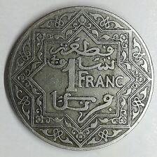 Moneta MAROCCO - 1921 - 1 Franco, EMPIRE CHERIFIEN