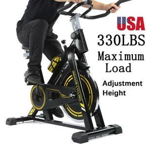 Exercise Bike Indoor Gym Fitness Cycling Stationary Bicycle Cardio Workout Sport