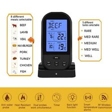 Smartech Beats ThermoPro TP20 Remote Wireless Digital BBQ Grill Thermometer Meat