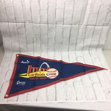 St. Louis Cardinals Baseball Crew Kids Club Flag Chevys Tex Mex Blue Red
