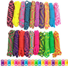 Neon Paracord & Buckle Big Neon Combo Crafting Kit Diy Projects Bracelet