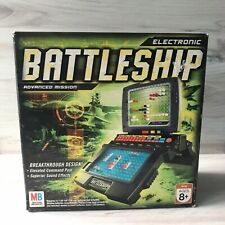 Electronic Battleship Advanced Mission 2005 Sound Effects Milton Bradley AS IS