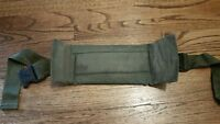US ARMY ALICE Pack Issued Kidney Back Pad & Attachment Strap Military OD Green