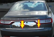 Fits Lincoln Continental 17-20 QAA Stainless Chrome Polished License Plate Trim