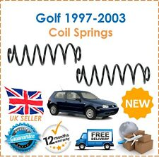 For VW Golf MK4 1J1 1997-2003 Two Rear Coil Springs Set Pair x2 1J0511115AJ New
