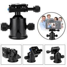 "DSLR Camera Tripod Monopod Ball Head Ballhead & Quick Release Plate 1/4"" Screw G"