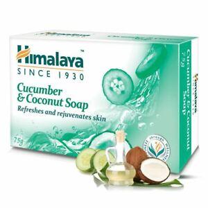 1 PC x 75 Gram Himalaya Cucumber & Coconut Soap - Free Shipping