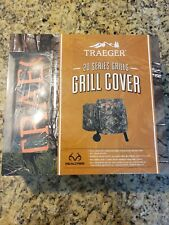 Traeger 20 Series Camo Realtree Grill Cover **New In Box**
