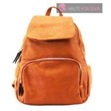 Bolsos de mujer mochila de piel color principal marrón