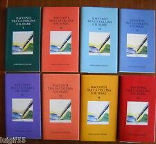 Racconti tra la collina e il mare - Marco Sabatelli Editore - Lotto di 8 Libri -