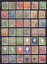 ICELAND: classic & semi-classic stamps used