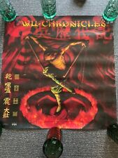 Original Wu Tang Clan 1999 promotional poster - New Old Stock