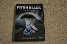 Vin diesel signed autógrafo en persona Pitch Black DVD