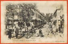 Carte Postale - Algérie - Sidi-Bel-Abbès - La rue Lord Byron