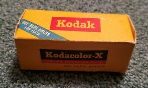 KODAK KODACOLOR-X COLOR PRINT FILM CX 120 EXPIRED NOV 1966